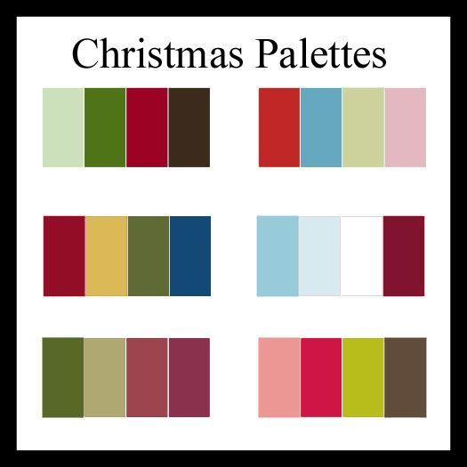 christmas color palette google zoeken color tones