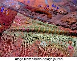 embroidery - love the texture of these fabrics: Barr Frankenstitch, Applique Slow, Alee Barr, Vintage Textiles, Art, Quilts Applique Embroidery, Embroidery Stitches, Fiber, Antique Vintage