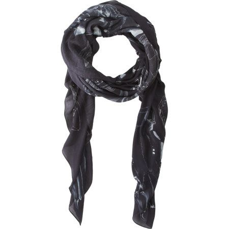 Forget Me Not Skull Scarf