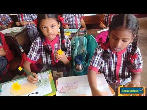 Drawing Competition Primary Classes Cca 2019 20 In Kv Bambolim Camp Goa Youtube Drawing Competition Drawings Competition