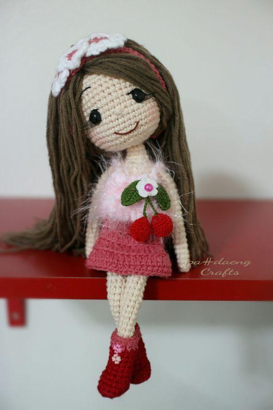 Padrão de boneca de crochê amigurumi | Boneca de crochet, Padrão ... | 846x564