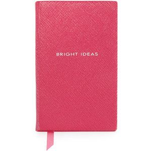 "Smythson ""Bright Ideas"" Wafer Notebook"