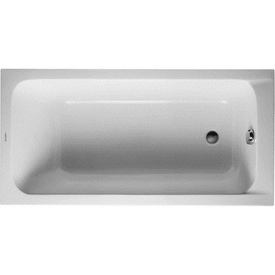 "Duravit 700095000000090 D-Code White 59"" x 29 1/2"" Bathtub"