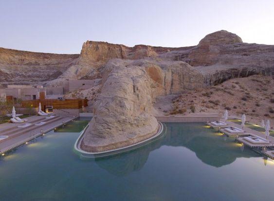 The Amangiri Resort and Spa in Utah