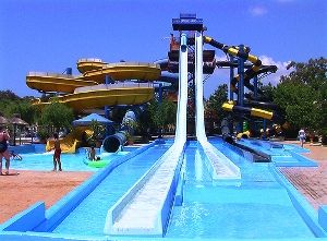 Aqualand Waterpark in Corfu: one of the best water parks in Europe! ( The 3rd Biggest in Europe)