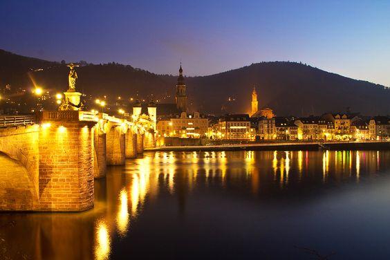 Altstadt Heidelberg, Baden-Württemberg