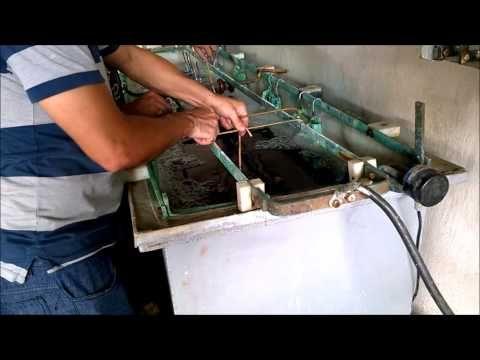 TUTORIAL - Como fazer uma peça de alumínio fundido passo a passo - YouTube