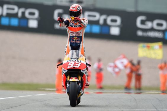 Motogp, Marc marquez and Germany on Pinterest