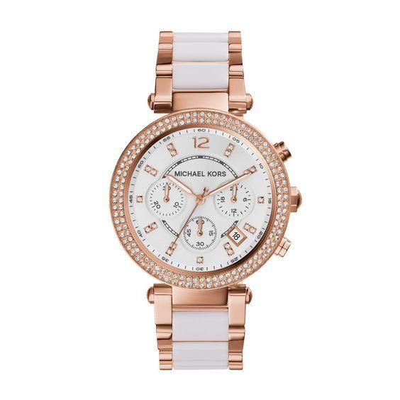 Amazon.com: Michael Kors Women's Parker Rose Gold-Tone Watch MK5774: Michael Kors: Clothing