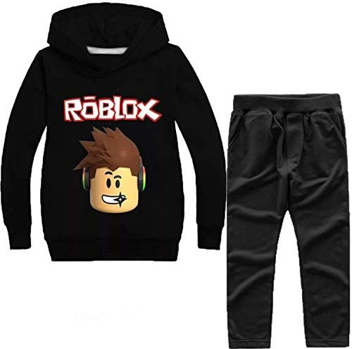 Enjoy Exclusive For Kids Roblox Hooded Tops 3d Printed Cartoon