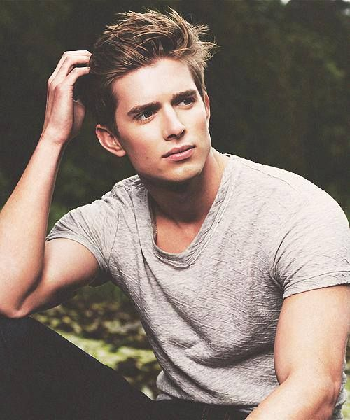 Jason from Pretty Little Liars. He's unnaturally beautiful and unbelievably hot.