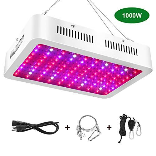 1000w Led Grow Light Full Spectrum Led Grow Lamp With Uv And Ir Plant Grow Light For Indoor Plants Veg And Fl Grow Lights For Plants Led Grow Lights Led Grow