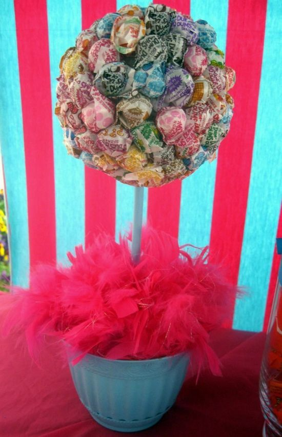 Candy Party Centerpiece