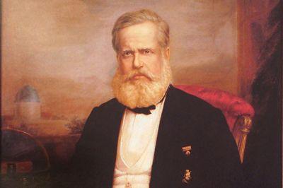 Dom Pedro II - Delfim da Câmara O Museu Histórico Nacional localiza-se na Praça Marechal Âncora, centro do Rio de Janeiro.