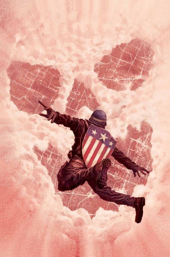 MARVEL'S CAPTAIN AMERICA: THE FIRST AVENGER Cover by Mike Del Mundo