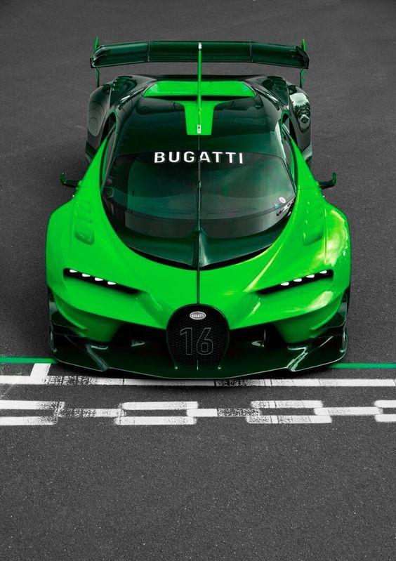 bugatti vision gran turismo green cars pinterest turismo and bugatti. Black Bedroom Furniture Sets. Home Design Ideas