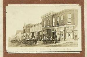 Gladbrook-IOWA-RP-1911-MAIN-STREET-nr-Marshalltown-Traer-Tama-Reinbeck-Conrad