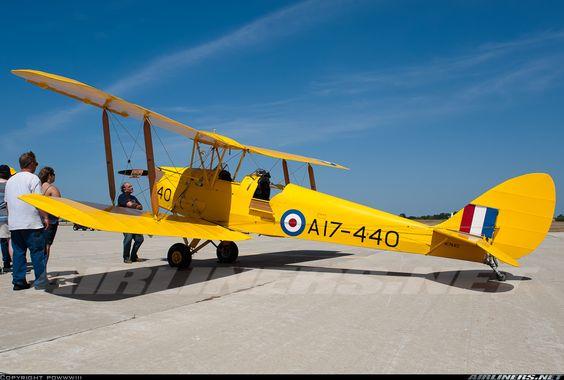 De Havilland DH-82A Tiger Moth II  N17440 (cn T208) Built in 1951
