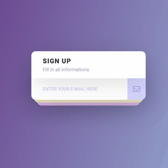 Interactive Sign Up Form Coding Code CSS CSS3 Form HTML HTML5 ...