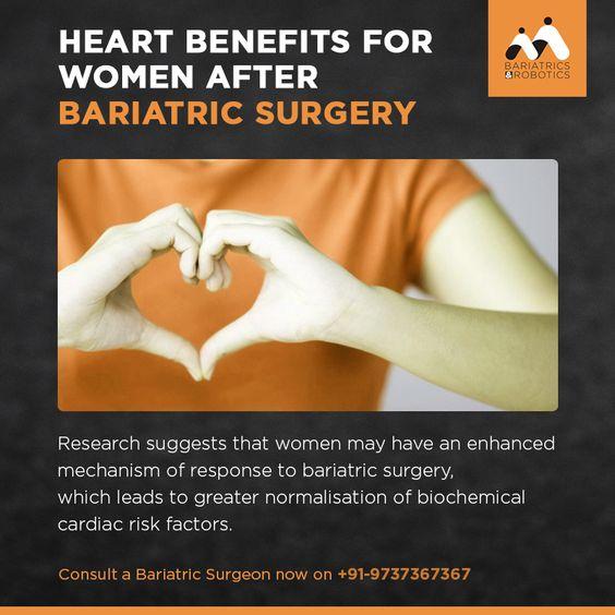 Bariatric Surgery benefits women heart