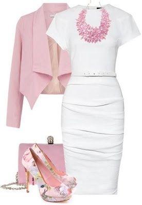 Farb-und Stilberatung mit www.farben-reich.com - White classic work dress ...
