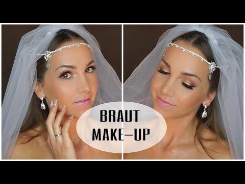 Mein Braut Make Up I Hochzeit I Tanja Cruz Youtube Braut Make Up Video Hochzeit Braut
