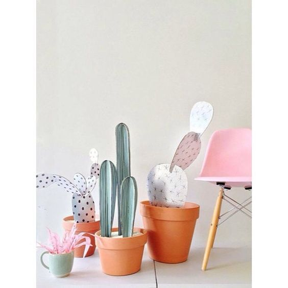 ✖️DIY✖️ We ❤️ this cardboard cactus DIY! See more on our Pinterest! #linkinprofile  #impressprstudio #diy #cactus #inspiration #mood #goodidea #pinspiration #forkids #cardboard