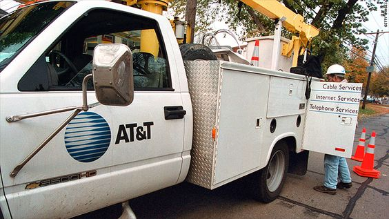 AT&T is providing cheaper, slower service for its poorest customers. The average broadband speed in the United States is 15 Mbps. The broadband speed doesn't surpass 3 Mbps in some neighborhoods.