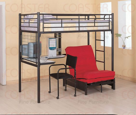just ordered this for the twins, they are gunna LOVE it: Kids Room, Kidsroom, Bunkbed, Bunk Bed With Futon, Loft Bunk Beds, Bedroom Ideas