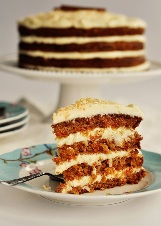 Hawaiian Carrot Cake with Coconut Frosting