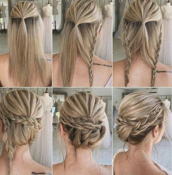15 Easy Hair Braids Tutorial For Daddy Beautytoktok Diy Wedding Hair Wedding Hairstyles Tutorial Hair Styles