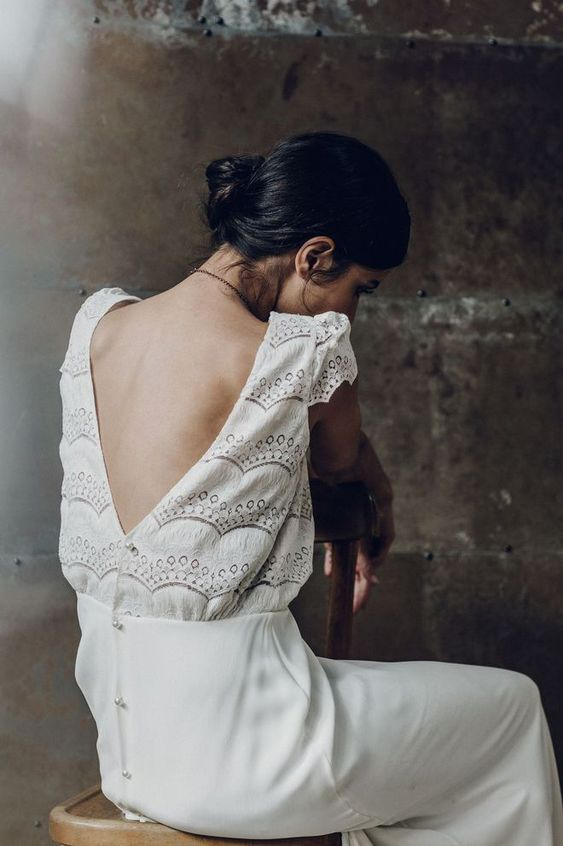 "Robe de mariée ""Verlaine"" Laure de Sagazan"