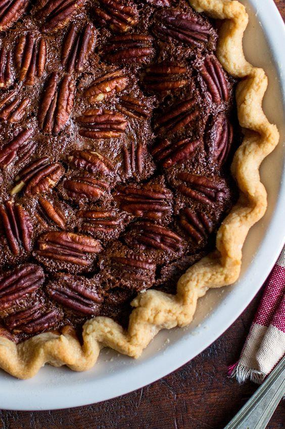 Sweet pie, Chocolate pecan pies and Pecan pies on Pinterest