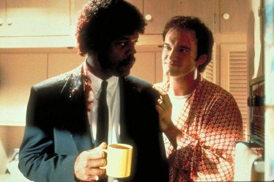 Pulp Fiction bastidores - Nesta seman, Samuel L. Jackson contracena com Quentin Tarantino, na pele do seu personagem Jimmie Dimmick