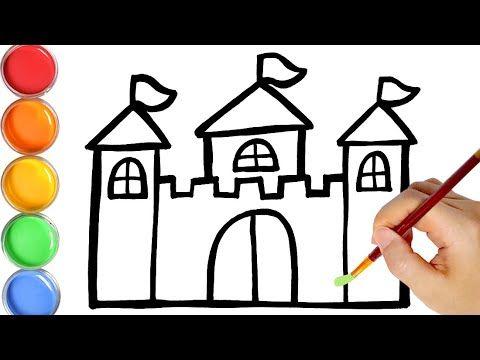 Rainbow Castle Warna Warni Belajar Menggambar Dan Mewarnai Untuk Anak Jin Toy Art Youtube Toy Art Belajar Menggambar Warna