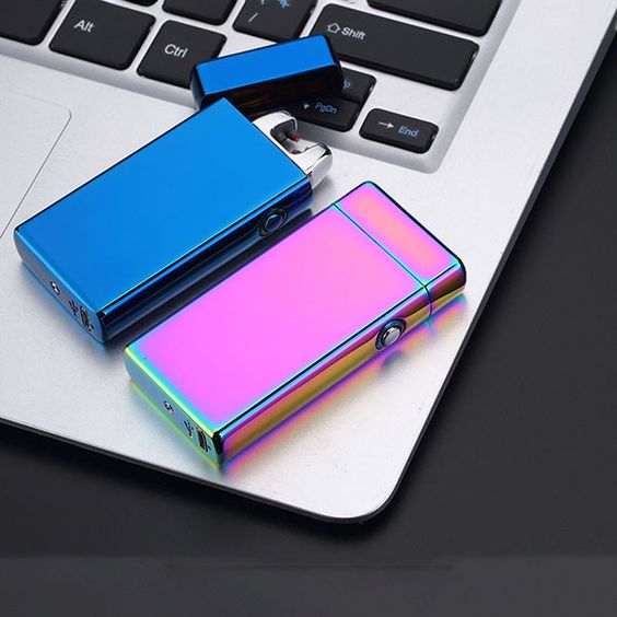 USB Electric Double Arc Lighter Rechargeable Windproof