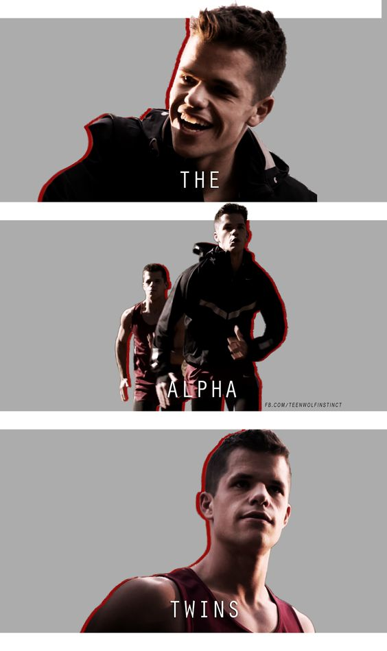 The Alpha Twins #TeenWolf