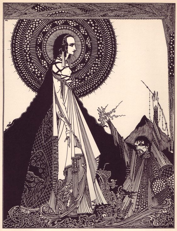 Harry Clarke's 1919 illustrations of Edgar Allan Poe's short stories.  Lushly beautiful and terrifying.