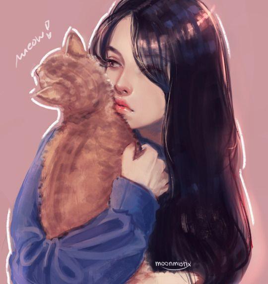 Moonmistix Digital Art Girl Girly Art Anime Art Girl