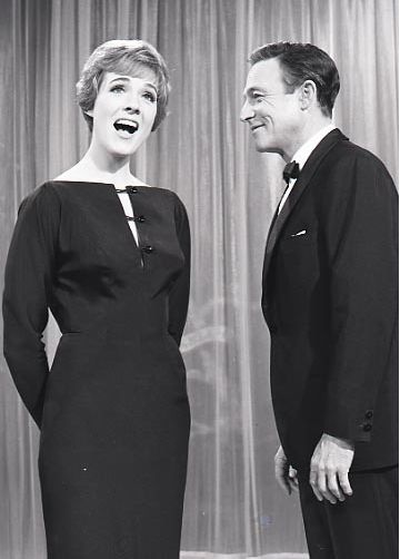 Gene Kelly and Julie Andrews. Too cute.