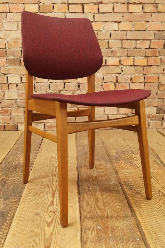 60er retro esszimmer stuhl vintage chair mid century modern, Esszimmer dekoo