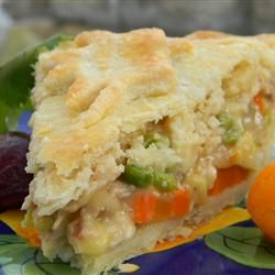 With a flaky and tender homemade crust and a savory turkey filling loaded with fresh herbs and veggies, this handcrafted turkey pot pie will make you glad you have some leftover turkey meat.