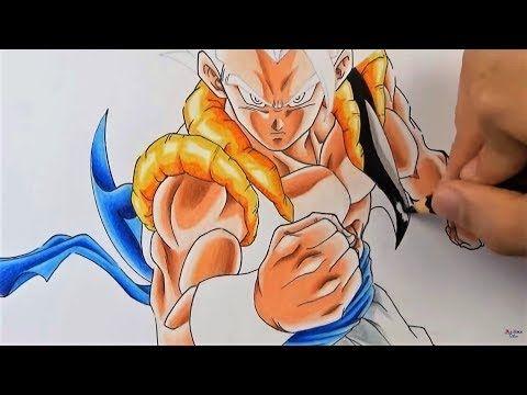 Como Dibujar A Gogeta Migatte Ultra Instinto Dragon Ball Con Lápices Baratos Faber Castell Youtube Personajes De Dragon Ball Dragones Cómo Dibujar