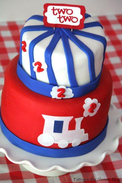 2nd birthday cakes for boys birthday cake train train birthday cakes ...