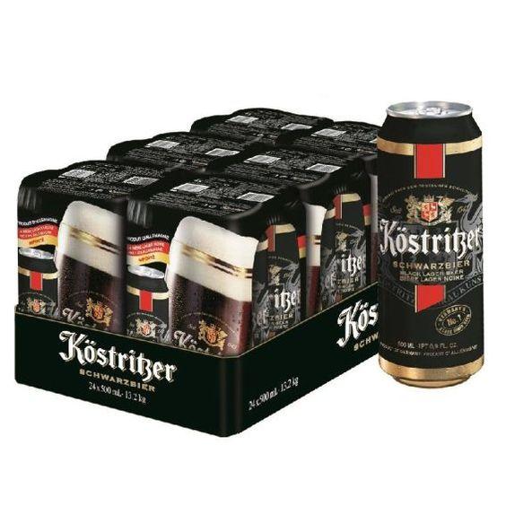 Bia Kostritzer 4,8% - Lon 500ml - Bia Nhập Khẩu HCM
