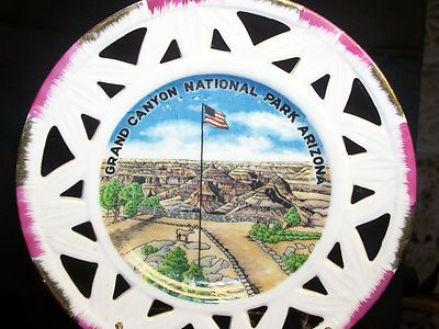 Vintage Grand Canyon Arizona National Park Collector Porcelain Souvenir Plate  $9.99