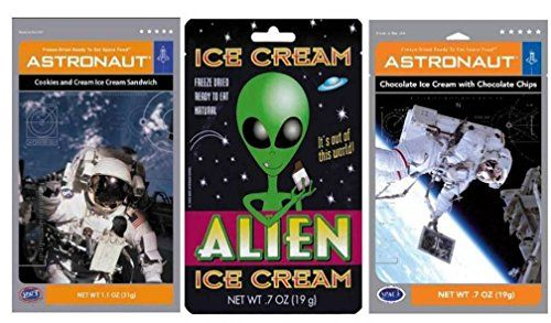 Astronaut Foods & Alien Freeze-Dried Ready To Eat Space F...