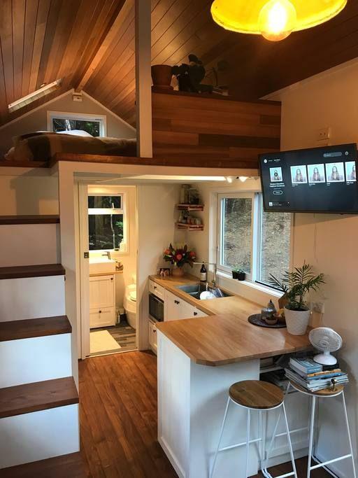 Waiheke Island Tiny House Design Petite Maison Petite Maison Mobile Maison Mobile
