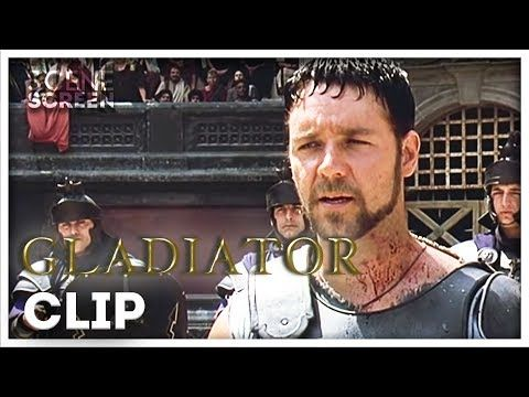 The Battle With A Retired Gladiator Gladiator Scenescreen Youtube Gladiator Movie Clip Battle