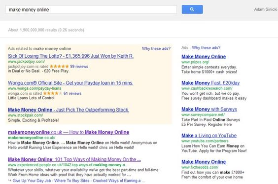 Google's Latest Algorithm Update – Adwords Makes More Money if SEO is Unreliable